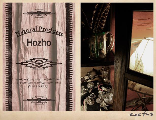 hozhoシルバーアクセサリーのカタログ7ページ左
