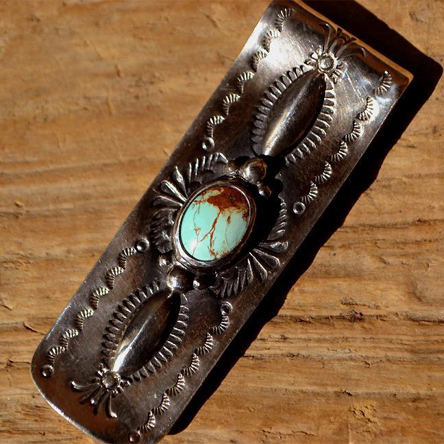 Turquoize Money clip (ターコイズ マネークリップ)