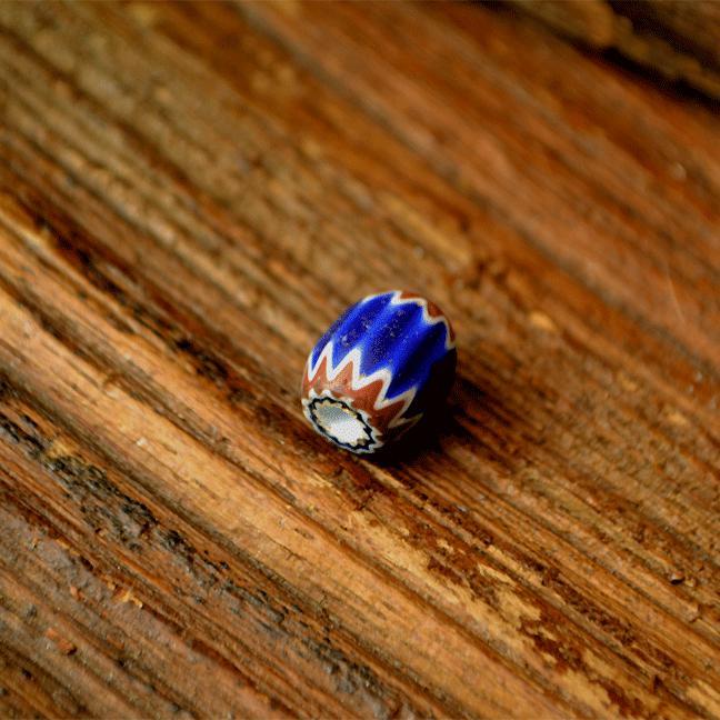 Antique Venetian Chevron Beads (アンティーク 6層シェブロン オールドベネチアン)