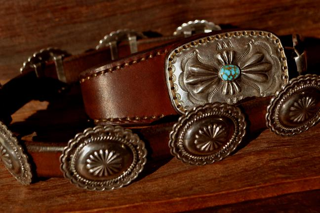 Concho Belt Wallet rope