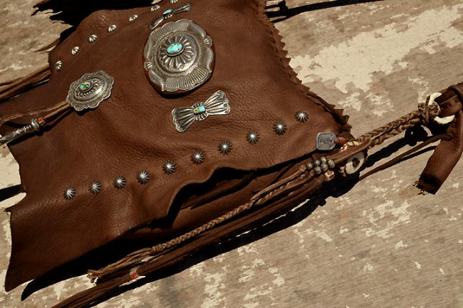 Deer Bag Medium Custom (鹿革 総手縫い バッグ カスタム)