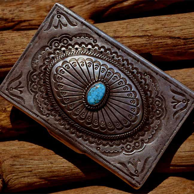 Old Navajo Card Cace