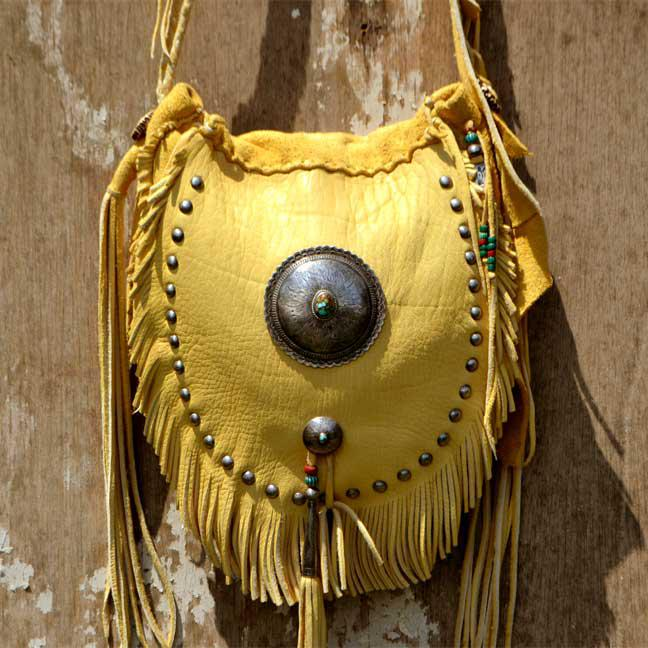 Deer Bag Small Custom (鹿革 総手縫い バッグ カスタム)